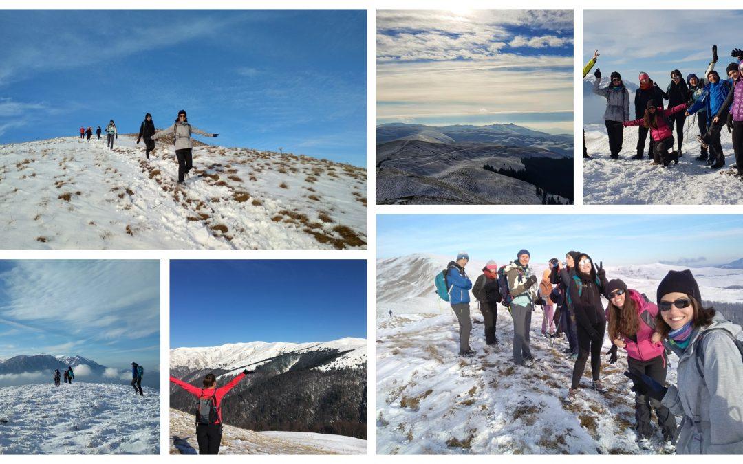 Trasee montane numai bune pe timp de iarnă