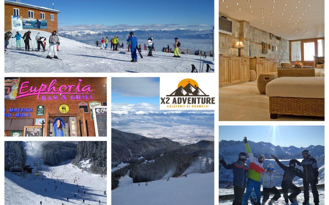 Hai să schiem în Bansko